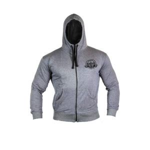 Light Grey Zip Hoody