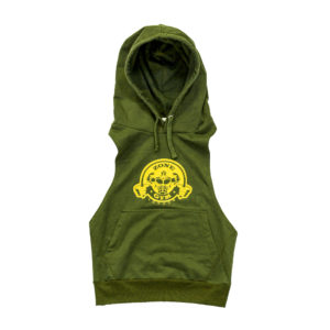 Green Sleeveless Hoody