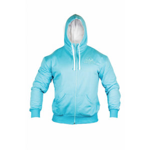 Light Blue Zip Hoody