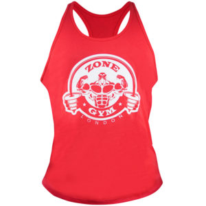Zone Gym Vest (Red)